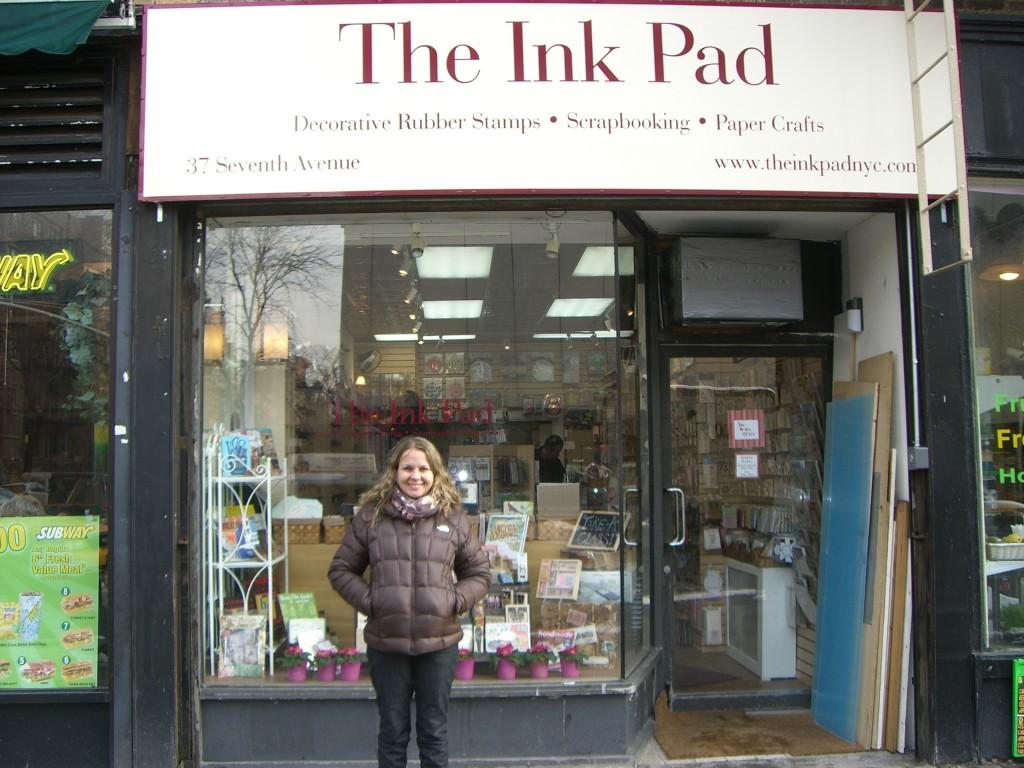 Visitando a The Ink Pad