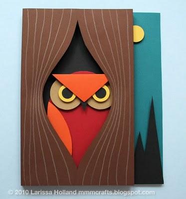 cartão coruja 1 Dicas de domingo