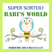 Sorteio Blog da Babi