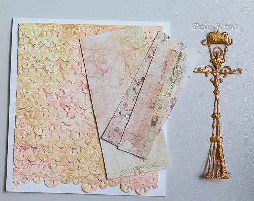 passo 12 Die Cut Background tutorial