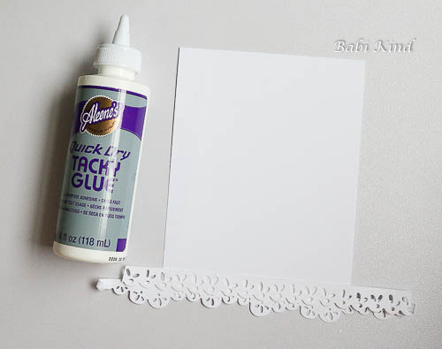 passo 5 Die Cut Background tutorial