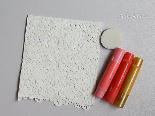 passo 8 Die Cut Background tutorial