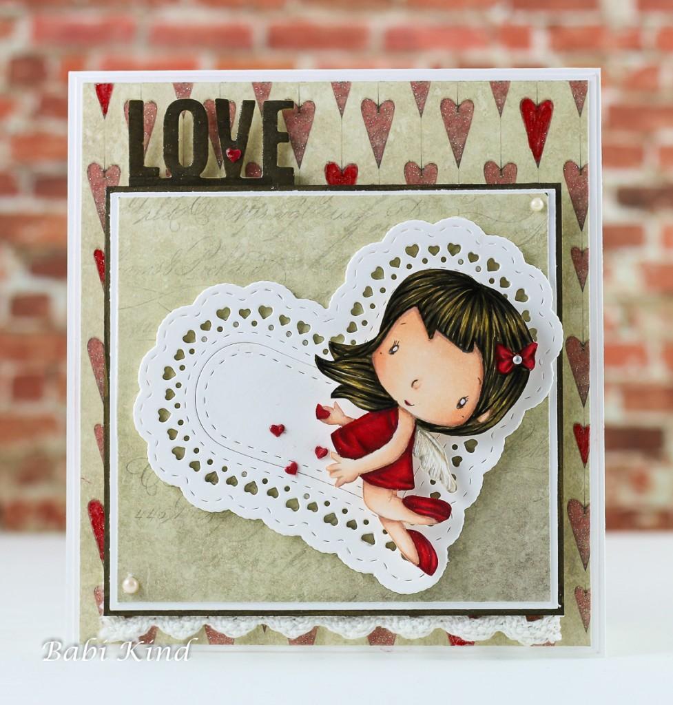 Cupido c.c design 977x1024 Valentines Card